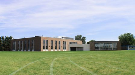 The new science centre at Stratton Upper School. Picture Stratton Upper School.