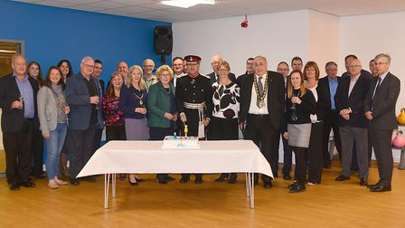 Guests enjoy the re-opening of North Herts Leisure Centre. Picture: Alan Millard