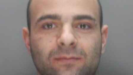 Liam Pressley, who was found guilty of beating his girlfriend. Picture: Herts police