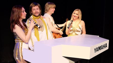 Abba Forever, one of the UK's leading Abba tribute shows, will be performing at the Gordon Craig The