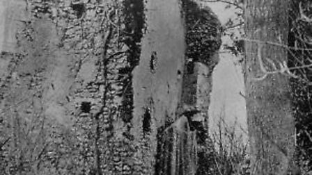 The Minsden Ghost photograph created by Thomas William Latchmore of Hitchin in 1907. Picture: TW Lat
