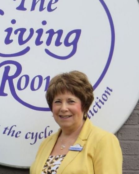 Janis Feely, who founded The Living Room in 2000. Picture: Louise McEvoy