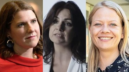 Jo Swinson from the Lib Dems, Heidi Allen from Unite to Remain, and Sian Berry from the Greens.