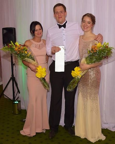 Gina McLean, Dean Goddard and Francesca Bryant. Picture: All Type Imagery.