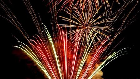 The Guy Fawkes fireworks at Hitchin Priory. Picture: Rob Weavers Photography
