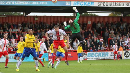 Boro lose to Coventry 1-0 at the Lamex in October 2013