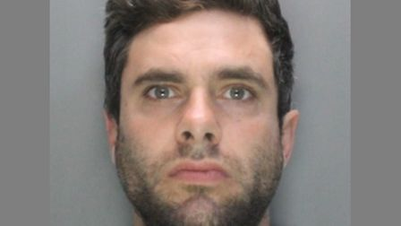 Jailed robber Michael Straight, 30. Picture: Herts police