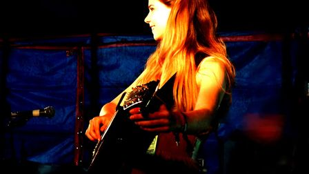 Zoe Wren will be performing at the event. Picture: Helen Folkstock