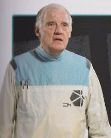 Richard Franklin, best known for his role of Captain Mike Yates in Doctor Who. Picture: Courtesy of
