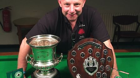 Andy Barrett will be taking on Mark Jenkins in the 24-hour sponsored Snookerthon. Picture: Andy Barr