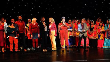 The finale of Saturday's Celebrate!!! event. Picture: MILLROE Photography