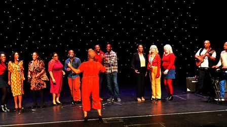 Herts of Love Gospel Choir. Picture: MILLROE Photography