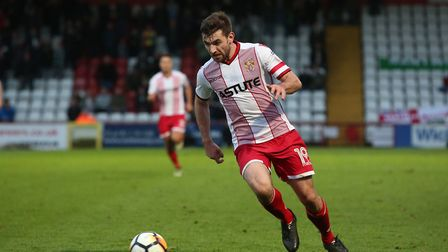 Danny Newton on the attack. Picture: Danny Loo