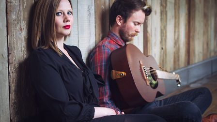 Husband and wife folk duo Megson will be performing at The Sun Hotel in Hitchin