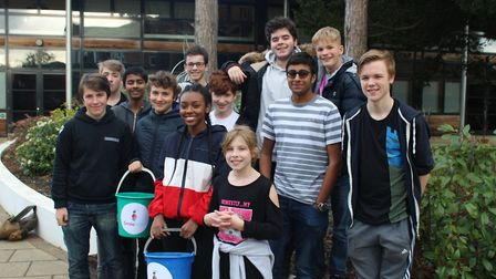 Students at St Christopher School in Letchworth pulled together to raise money for Smile Train. Pict