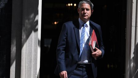 Secretary of State for Exiting the European Union Stephen Barclay leaves after a cabinet meeting at