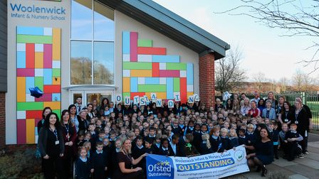 Woolenwick Infant and Nursery School in Stevenage has achieved an outstanding Ofsted report. Picture