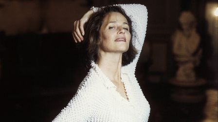 British-born French actress Charlotte Rampling.