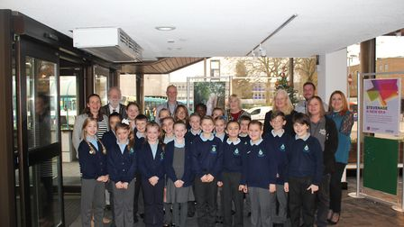 The pupils paid a visit to the Stevenage Borough Council headquarters to find out how the council wo