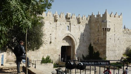 The Damascus Gate to the Old City of Jerusalem. Picture: Madeline Russell