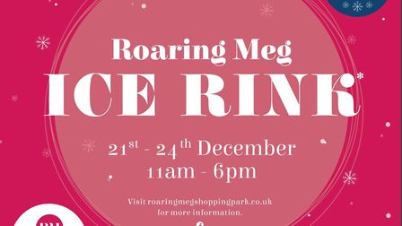 There will be a free ice rink at Roaring Meg Retail & Leisure Park in Stevenage this Christmas for y