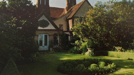 Parsonage House, Helions Bumpstead, features in Secret Gardens of East Anglia by Barbara Segall. Pic