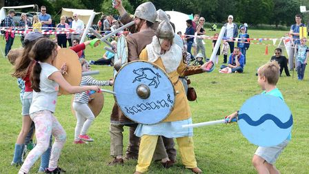 Vikings come to town at the Walsworth Festival this year.
