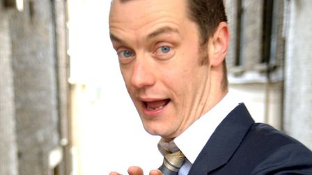 Paul Tonkinson. Picture: Comedians and Carols