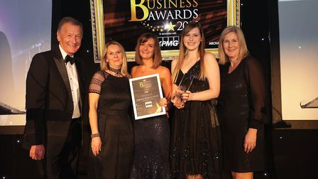 Customer Service Award winners Kings House Management (UK) Ltd. Picture: CPG Photography