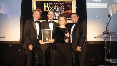 Commercial Business in the Community winners Lumina Technologies Ltd. Picture: CPG Photography