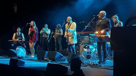 Nine Below Zero at the Royal Albert Hall earlier this month [Picture: Phil Welham]