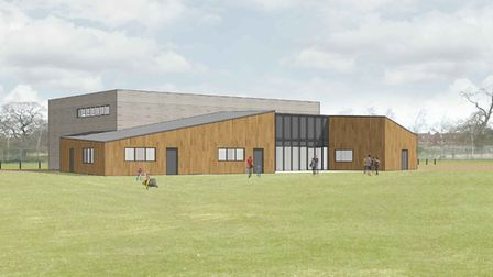 How the Potton Hall for All will look. Picture: Potton Hall for All