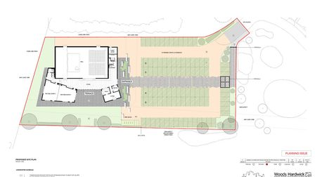 Plans for the Potton Hall for All. Picture: Potton Hall for All