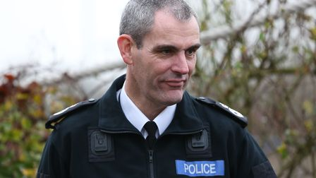 Hertfordshire Chief Constable Charlie Hall.