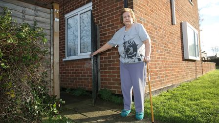 Margaret Shailer, 73, fell and had to wait five hours for an ambulance to arrive. Picture: Danny Loo