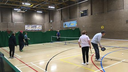 New raquet sport Pickleball is coming to Letchworth's North Herts Leisure Centre. Picture: Active Le