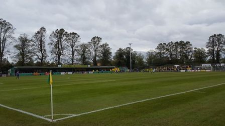 Hitchin Town's Top Field. Credit @laythy29