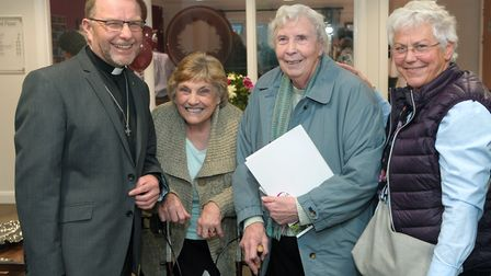 Guests at the ribbon-cutting ceremony at the new MHA Oak Manor care home in Shefford. Picture: Nic C