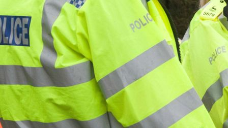 Police are treating two burglaries in Stevenage yesterday as linked.