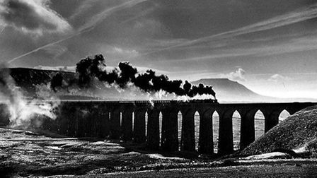 The Ribble viaduct, by Denis Thorpe.
