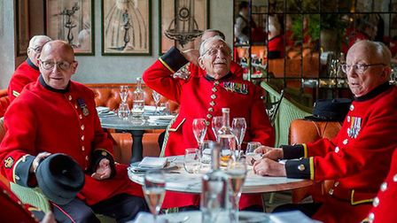 Pensioners at The Ivy, by Lucy Young
