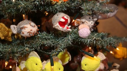 One of the trees at the Hitchin Christmas Tree Festival at Holy Saviour Church. Picture: Danny Loo