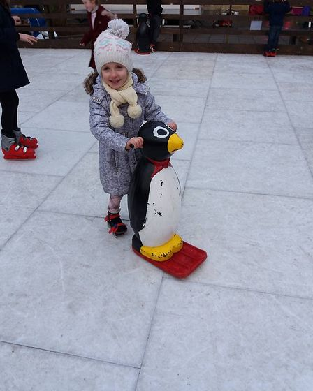 Children were able to enjoy the Christmas Market and a series of fun activities including an ice rin