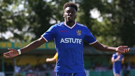 Boreham Wood have completed the signing of Stevenage FC winger Blair Turgott on a free transfer. Pic