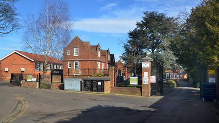 Hitchin Boys' School, where Andrew Hanahoe taught science and was a sixth-form tutor. Picture: Alan
