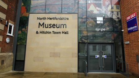 The would-be entrance to the North Hertfordshire Museum at 14/15 Brand Street. Picture: Harry Hubbar