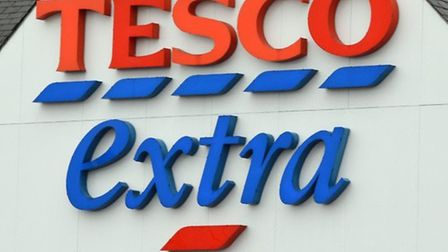 Shoppers first noticed the smell in the Tesco Extra store on Friday. Picture: Archant.