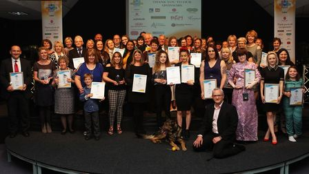 The winners and finalists from the Comet Community Awards 2017. Picture: Karyn Haddon