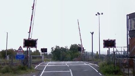 Everton level crossing will be closed for two days for repairs after a car crashed into the barrier.