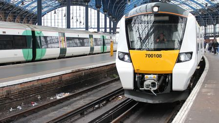 One of the new Class 700 Thameslink trains.